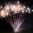Large bright firework at an event — Stock Photo #53937565