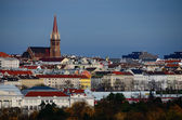 Colorful city of vienna — Stock Photo