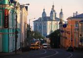 Cathedral in Smolensk. — Fotografia Stock