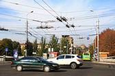 Ukraine. Street in Mariupol. — Stock Photo