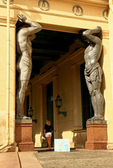 Ancient sculptures — Photo