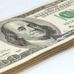 Stack of money closeup — Stock Photo #73556711