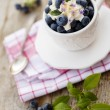 Постер, плакат: Blueberries summer delights