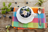 Blueberries - summer delights — Stock Photo