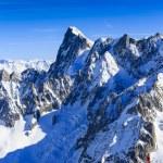 Aiguille du Midi, French Alps — Stock Photo #68563495