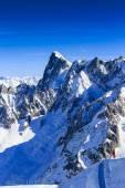 Aiguille du Midi, French Alps — Stock Photo