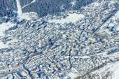 Chamonix - aerial view — Stock Photo