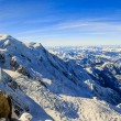 Mont Blanc and Chamonix, view from Aiguille du Midi — Stock Photo #68571075