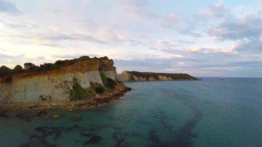 Vasilikos, Gerakas Beach - Zakynthos, Greece — Stock Video