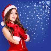 Santa sexy — Foto Stock