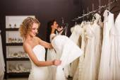 Young beautiful brides — Stock Photo