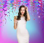 Celebration Girl — Stockfoto
