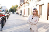 Portrait of an executive young woman — Stock Photo