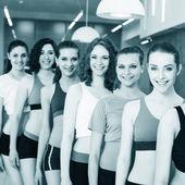 Grup fitness sınıfı — Stok fotoğraf