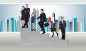 Young businesspeople — Stock Photo