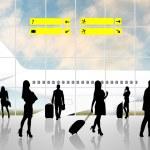 International Airport Terminal — Stock Photo #70975921