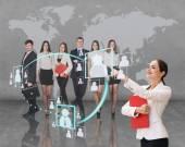 Bureau d'affaires de l'avenir — Photo