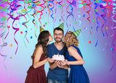 Partij van de verjaardag — Stockfoto
