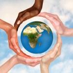 Symbol of the Earth globe — Stock Photo #78532908