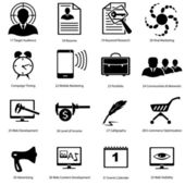 Different icons for advanced designers — Stock Vector