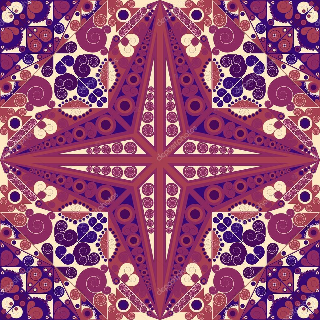 阿拉伯式花纹矢量装饰