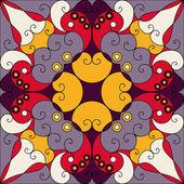 抽象图案的背景 — 图库矢量图片