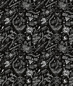 Traditional tattoo biker pattern — Stock Vector