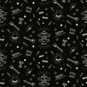 Traditional tattoo biker pattern — Stock Photo