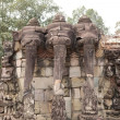 Terrace of the elephants — Stock Photo #68935745