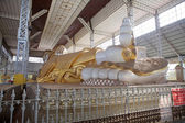 Shwethalyaung Buddha — Stock Photo