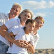 Boys with grandparents — Stock Photo #54912213