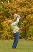 Grandfather with child — Zdjęcie stockowe