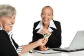 Deux femmes d'affaires — Photo