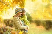 Happy mother with her cute daughter — Foto Stock