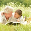Grandfather and his grandson — Stock Photo #56139703