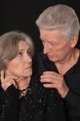 Sad Senior couple — Stock Photo
