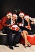 Christmas family holiday — Stock Photo