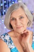 Retrato de mujer senior — Foto de Stock