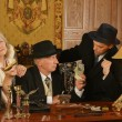 Gangsters companions on the table — Stock Photo #65061907