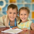 Smiling  Brother and Sister — Stock Photo #65064727