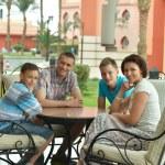 Happy family relaxing — Stock Photo #68347359