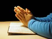 The little prayer — Stock Photo