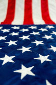 American Flag Stars and Stripes — Stock Photo