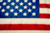 Blurred American Flag Background — Stock Photo