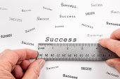 Measuring Success — Stock Photo