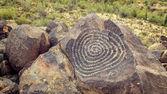 Native American Petroglyphs — Stock Photo