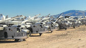 Military Aircraft Boneyard — Stockfoto