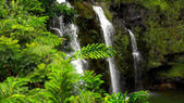 Upper Waikani Falls Along the Road to Hana in Maui — Stock Photo
