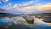 Mono Lake at Sunset — Stock Photo
