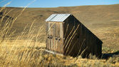 Weathered Barn in Eastern Oregon — Stock Photo